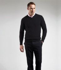 GM10 Glenmuir V Neck Lambswool Sweater